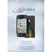 Защитная пленка Magic Style iPhone 4/4s/5 Bubble Art