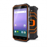 Смартфон Ginzzu Ginzzu RS8502 Black-Orange