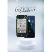 Защитная пленка Magic Style iPhone 4/4s/5 Jolly Sparcles