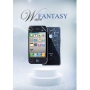Защитная пленка Magic Style iPhone 4/4s/5 Fantasy Wave