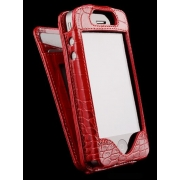 Чехлол для iPhone Sena Wallet Skin Croco Red